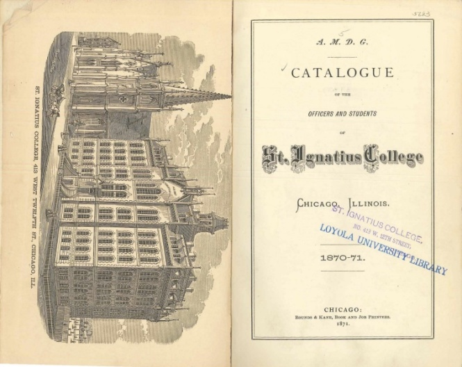 Collection of Loyola University Archives and Special Collections