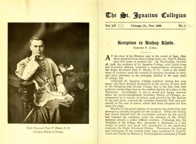 The Saint Ignatius Collegian, 1908
