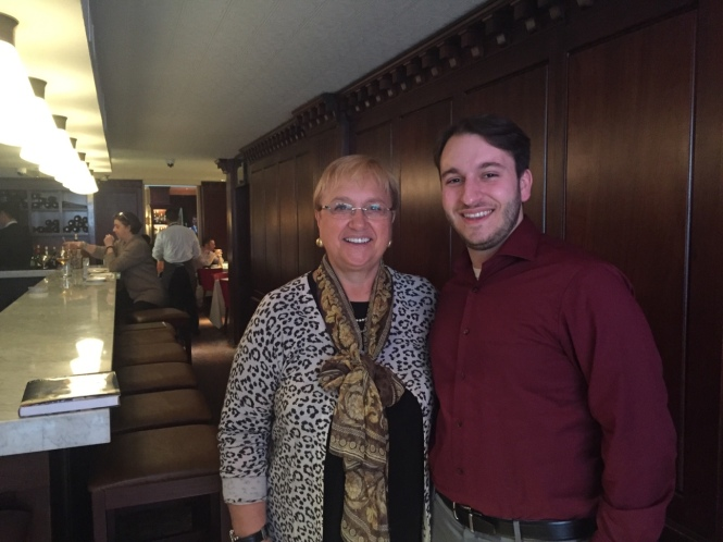 Lidia Bastianich and Guy Valponi, March 9, 2016